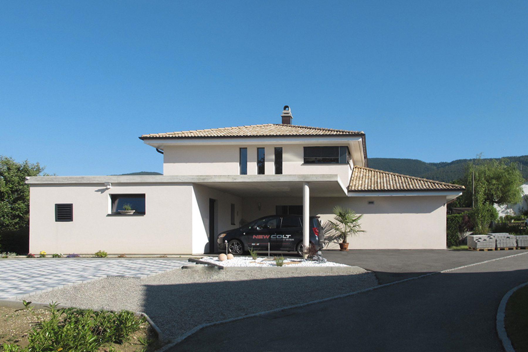 Joliat sa for Villa individuelle